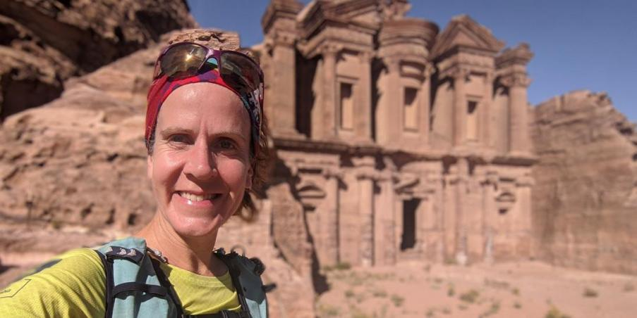 Amy Sproston Sets the New FKT for the Jordan Trail
