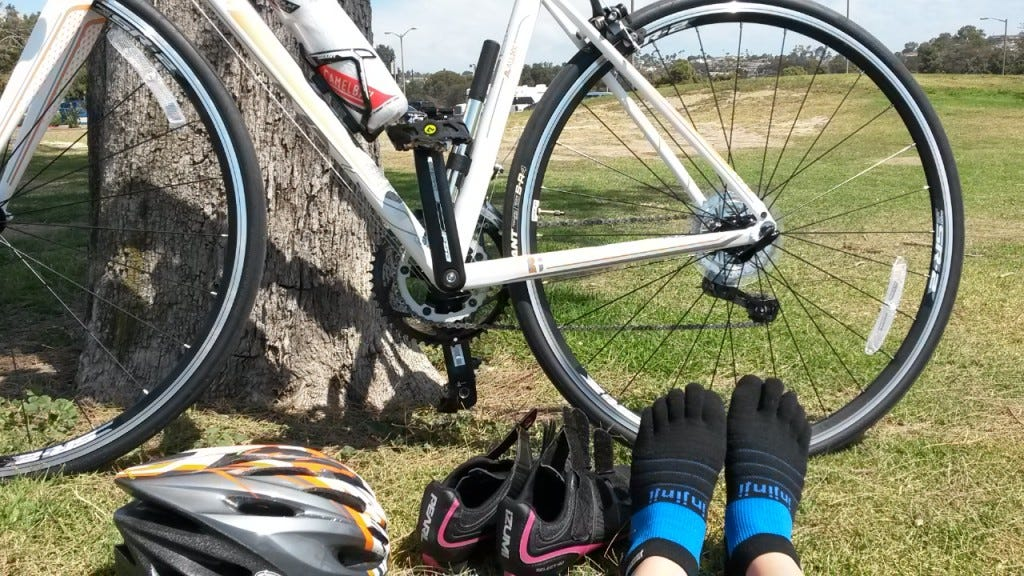 Injinji Bike Socks