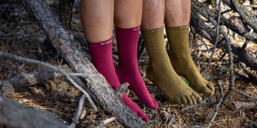 injinji liner crew socks