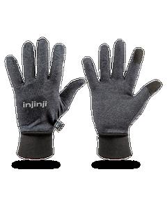 Front and Back of Injinji Men's Lightweight Running Gloves