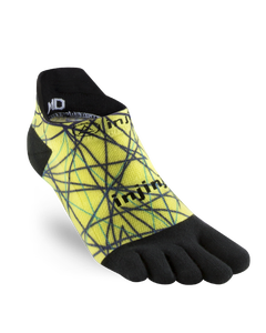 Injinji Spectrum Run Original Weight No-Show Socks