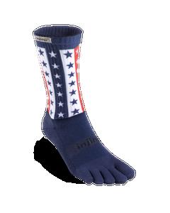 Injinji Trail Midweight Crew USA Socks