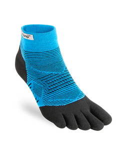 Injinji Run Lightweight Mini-Crew Malibu Toesocks