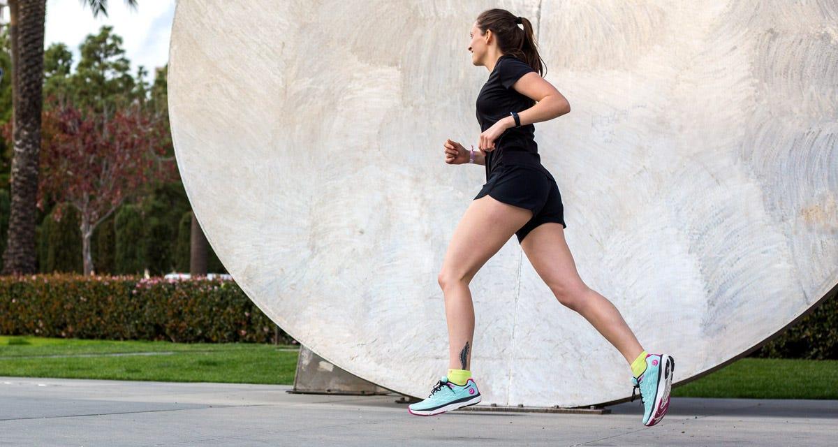 Women's Run Lightweight Mini-Crew