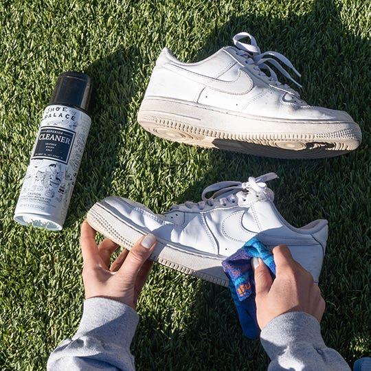 shine shoes with socks