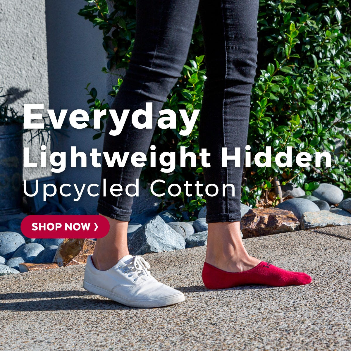 Everyday Lightweight Hidden Upcycled Cotton